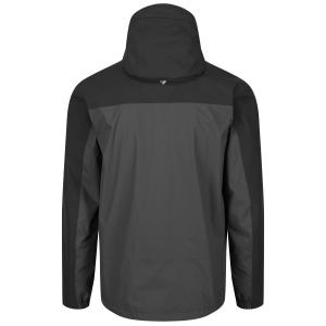 Regatta Mens Highton Stretch Waterproof Jacket Black Magnet