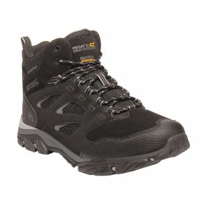 Regatta Mens Holcombe IEP Mid Boots Black/Granite
