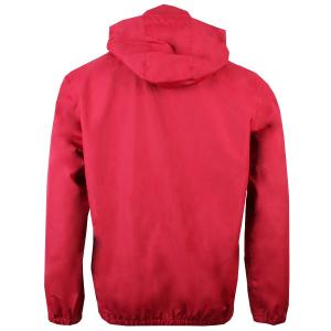 Regatta Mens Ladomir Lightweight Waterproof Hooded Bomber Jacket Delhi Red