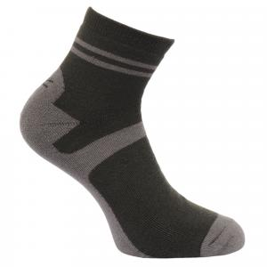 Regatta Mens Lifestyle Socks 3 Pack Raven/Bayleaf/Navy
