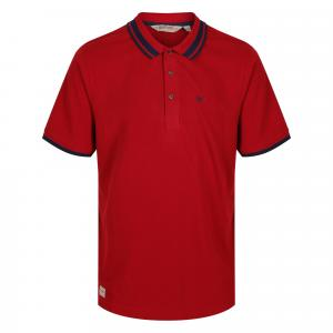 Regatta Mens Talcott II Polo Delhi Red