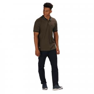 Regatta Mens Talcott II Polo Grape Leaf