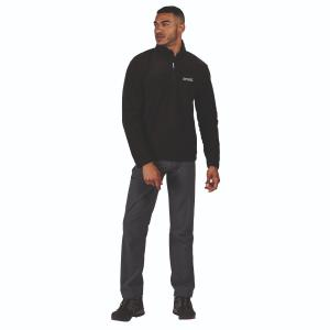 Regatta Mens Thompson Fleece Black