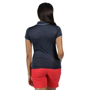 Regatta Womens Remex II Polo Dark Denim