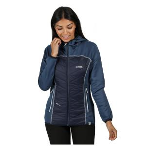 Regatta Ladies Anderson IV Hybrid Jacket Dark Denim Navy