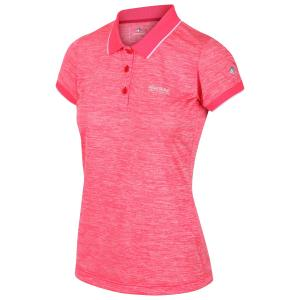 Regatta Womens Remex II Polo Neon Pink