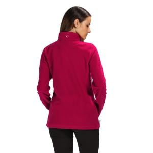 Regatta Ladies Sweethart Half Zip Fleece Dark Cerise