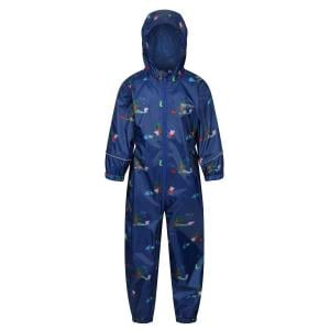 Regatta Peppa Pig Pobble Printed Waterproof Puddle Suit New Royal