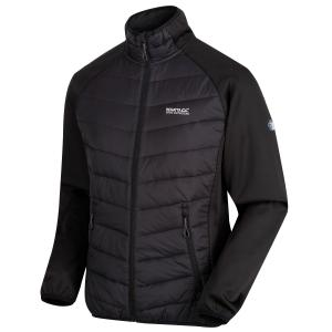 Regatta Mens Bestla Hybrid Lightweight Insulated Jacket Black