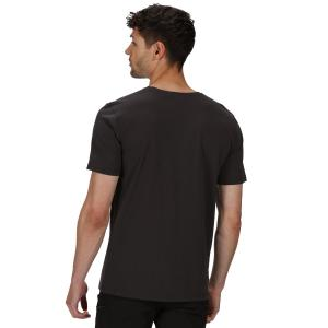 Regatta Mens Tait T-Shirt Ash