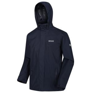 Regatta Mens Matt Lightweight Waterproof Jacket Navy