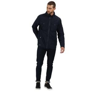 Regatta Mens Haldor Waterproof Jacket Navy