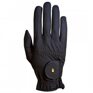 Roeckl® Kids Roeck-Grip Riding Gloves Black