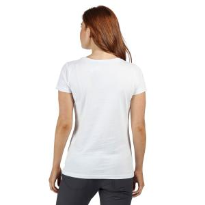 Regatta Ladies Carlie Coolweave T-Shirt White