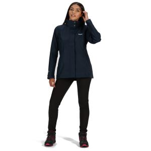 Regatta Ladies Daysha Lightweight Waterproof Jacket Navy