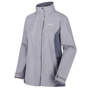 Regatta Ladies Daysha Lightweight Waterproof Jacket Dapple Onyx Grey
