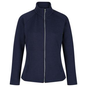 Regatta Ladies Sadiya Full Zip Quilted Fleece Navy