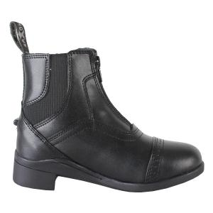 Saxon Childs Syntovia Zip Paddock Boots Black