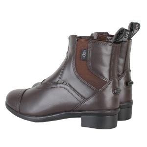 Saxon Childs Syntovia Zip Paddock Boots Brown