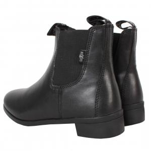 Saxon Ladies Syntovia Jodphur Boots Black