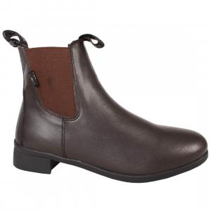 Saxon Ladies Syntovia Jodphur Boots Brown