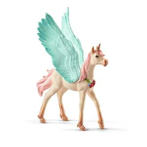 Schleich Decorated Unicorn Pegasus Foal