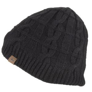 Sealskinz Waterproof Cold Weather Cable Beanie Black
