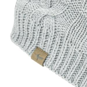 Sealskinz Waterproof Cold Weather Cable Beanie Grey Marl