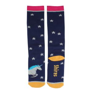 Shires Childs Everyday Socks Unicorn Toes