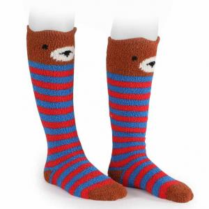 Shires Adult Fluffy Socks Bear