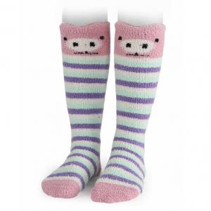 Shires Adult Fluffy Socks Pig