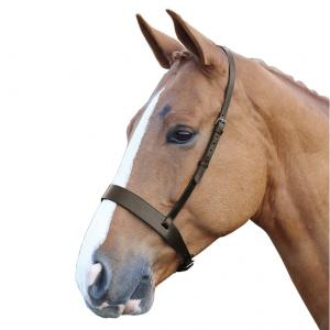 Shires Blenhiem Wide Hunter Cavasson Noseband Havana