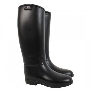 Shires Childs Long Rubber Riding Boots Black