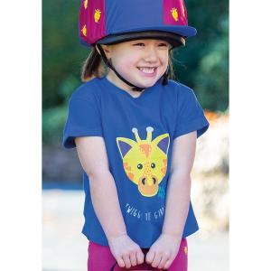 Shires Childs Tikaboo T-Shirt Navy