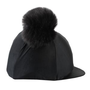 Shires Double Pom Hat Cover Black
