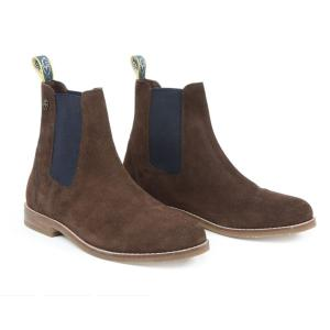 Moretta Childs Antonia Suede Chelsea Boots Brown