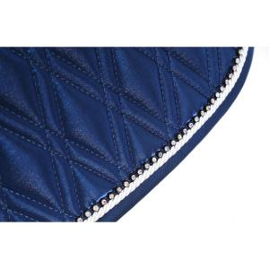 Shires Performance Euro Cut Luxe Saddle Pad Royal Blue