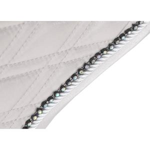 Shires Performance Euro Cut Luxe Saddle Pad Silver