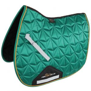 Shires Performance Luxe Saddlecloth Green