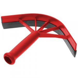 Shires Plastic Sweat Scraper Red