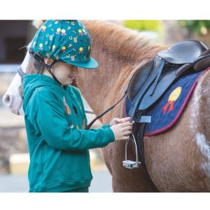 Shires Tikaboo Hat Cover Green