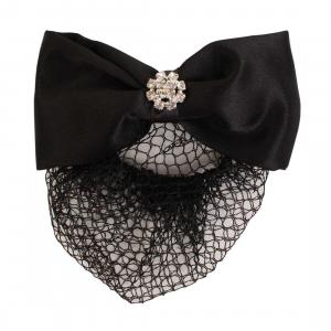 ShowQuest Crystal Hairbow & Bun Set Black