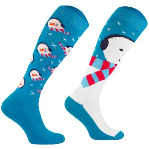 Comodo Ladies Novelty Socks Snowman