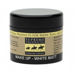 Supreme Products Make Up Matt White