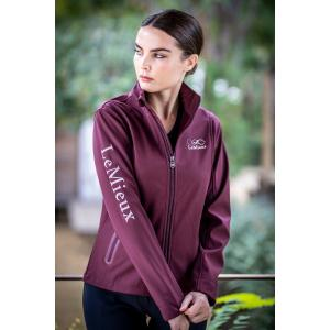 Team LeMieux Ladies Softshell Team Jacket Burgundy