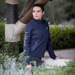 Team LeMieux Ladies Softshell Team Jacket Navy