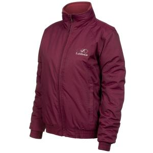 Team LeMieux Ladies Waterproof Team Jacket Burgundy