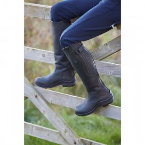 Toggi Kids Carlton Long Riding Boots Black