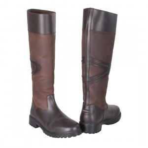 Toggi Ladies Rundle Country Boots Chocolate