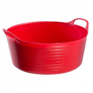 Tubtrugs® Flexible Shallow Bucket Red